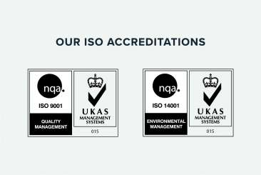 Concept Smoke Screen are proud to be ISO accredited
